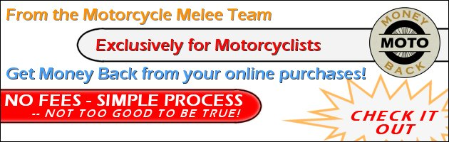 Exclusive for Motorcyclists--Get Money Back from Online Purchases
