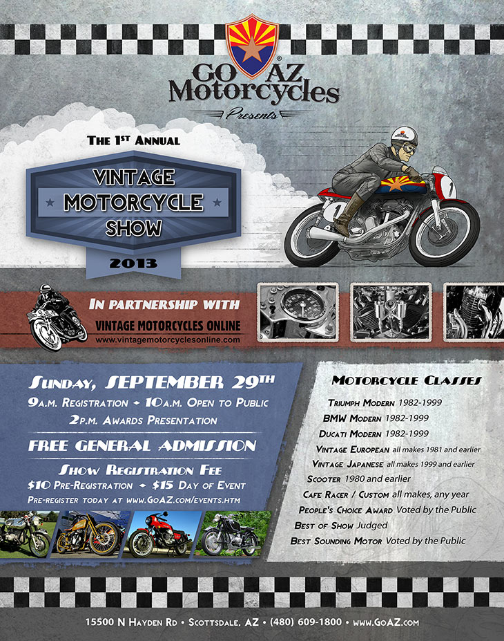 Arizona Vintage Motorcycle Show