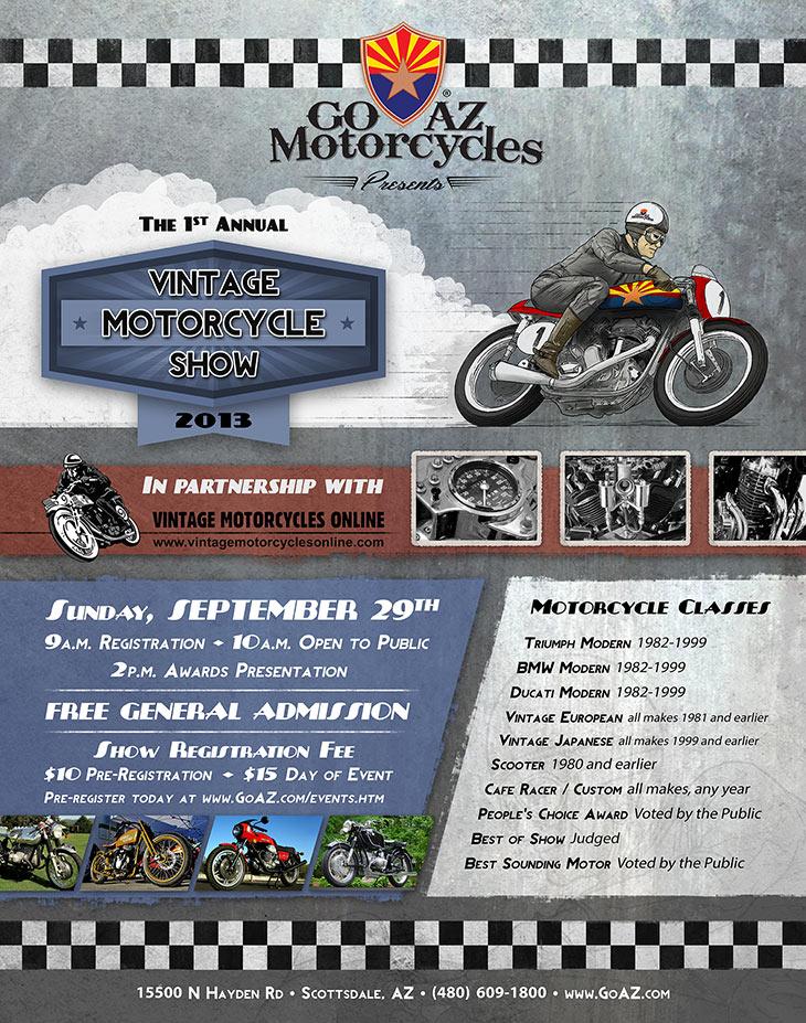 Arizona Vintage Motorcycle Show