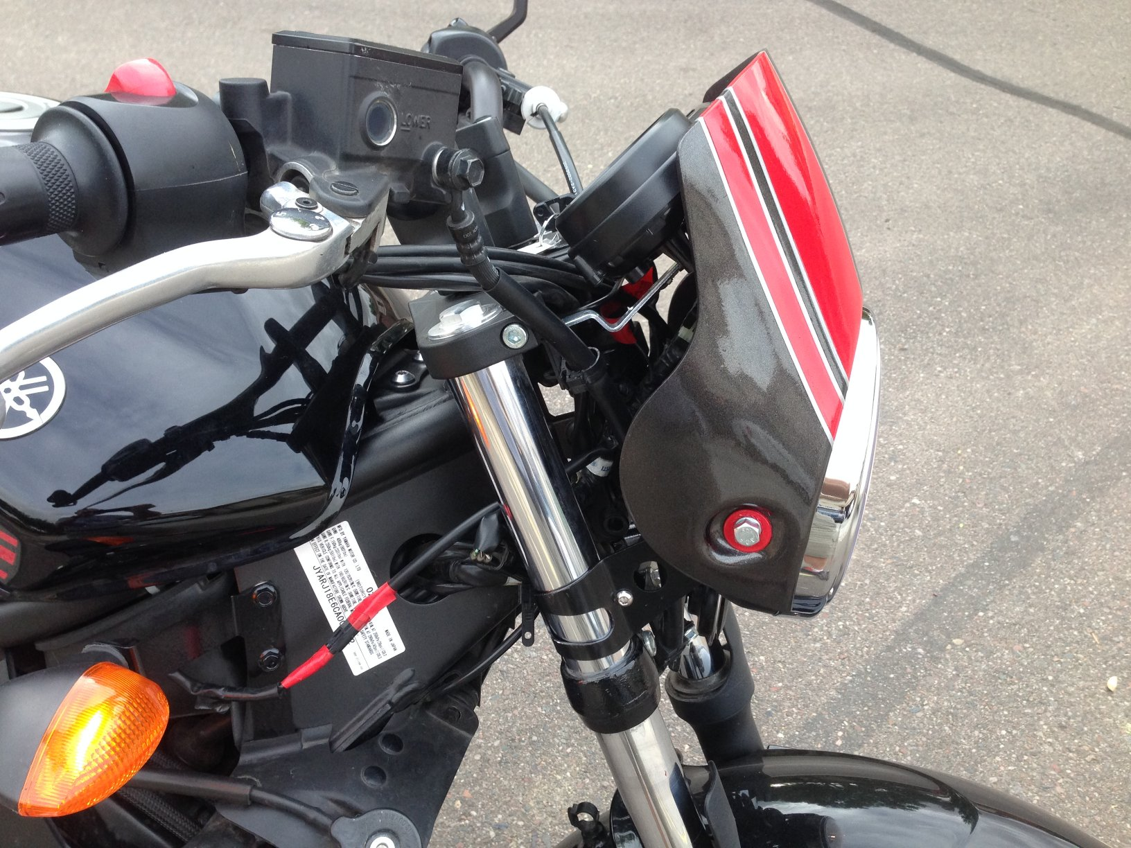 FZ6R Streetfighter Mod Completed