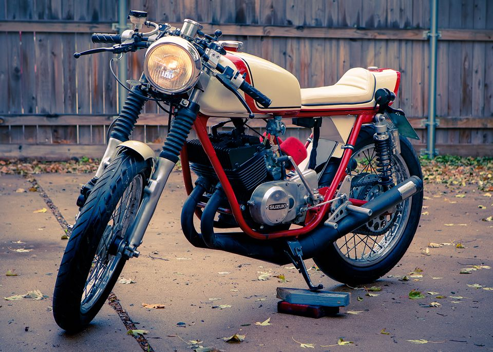 A Hundred Dollar Parts Bike Becomes Cafe Racer Beauty
