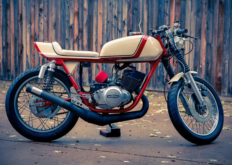 A Hundred Dollar Parts Bike Becomes A Cafe Racer Beauty