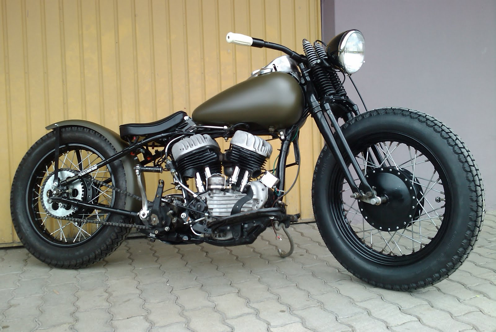 Bobber Motorcycle   Wallpapers HD Quality