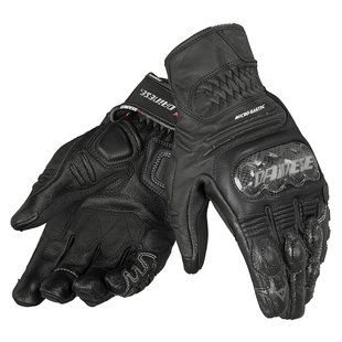 Dainese Carbon Cover S-ST Motorcycle Gloves - for riding bobbers, cafe racers, harley davidson, streetfighters or street fighters, cruisers, sport bikes, or any other motorcycle or scooter.