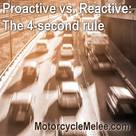 Motorcycle Madness Tip of the Day: The 4-Second Rule