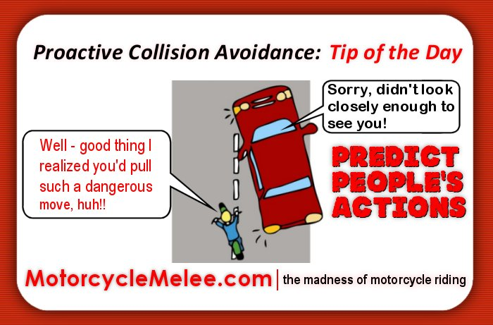 Proactive Collision Avoidance Tip of the Day – Predict People's Actions