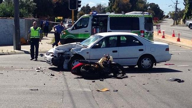 Avoiding Motorcycle Crashes at Intersections