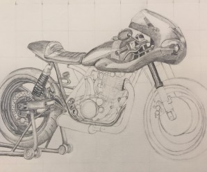 Drawing Photorealistic Motorcycles – Week 3